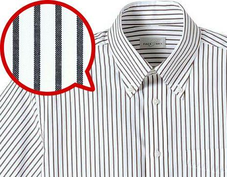 ストライプワイシャツ