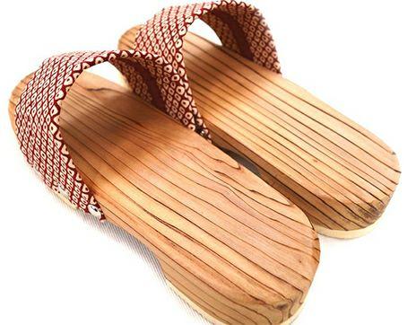 木製サンダル