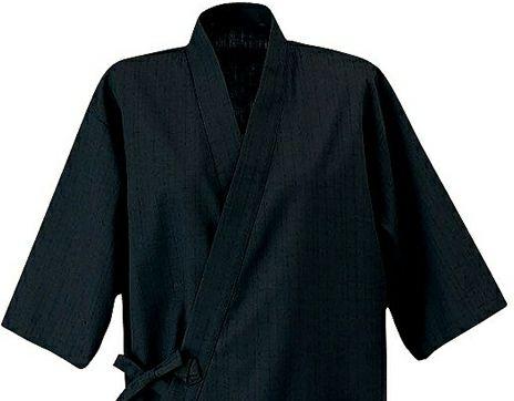 黒(ブラック)作務衣(さむえ)