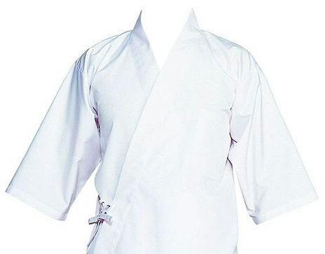 白い作務衣(さむえ)