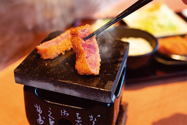 牛かつは、肉を美味しく食べる新しい手法