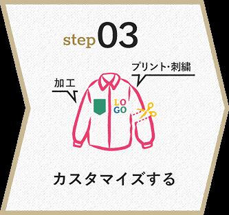 STEP3 カスタマイズする