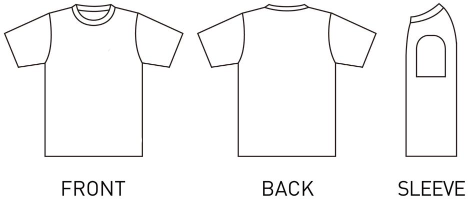 ▲Tシャツイラスト画像