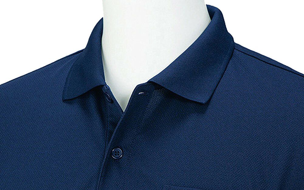 北海道千歳市にあるポロピナイ食堂様の実際のポロシャツ着用を送っていただきました!