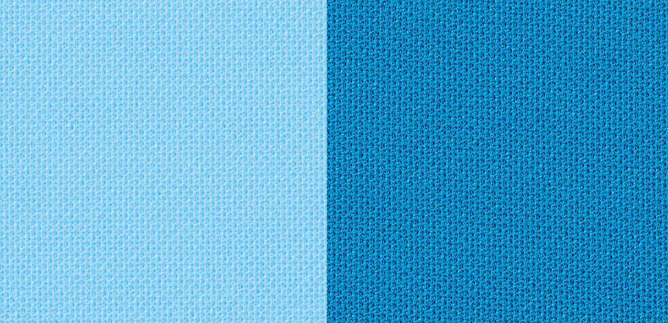 ブルー(水色系)#6・ターコイズ#26生地アップ画像