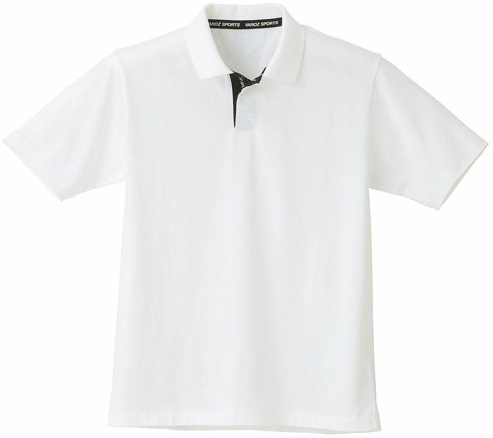 ホワイト♯91/吸汗速乾半袖ポロシャツ