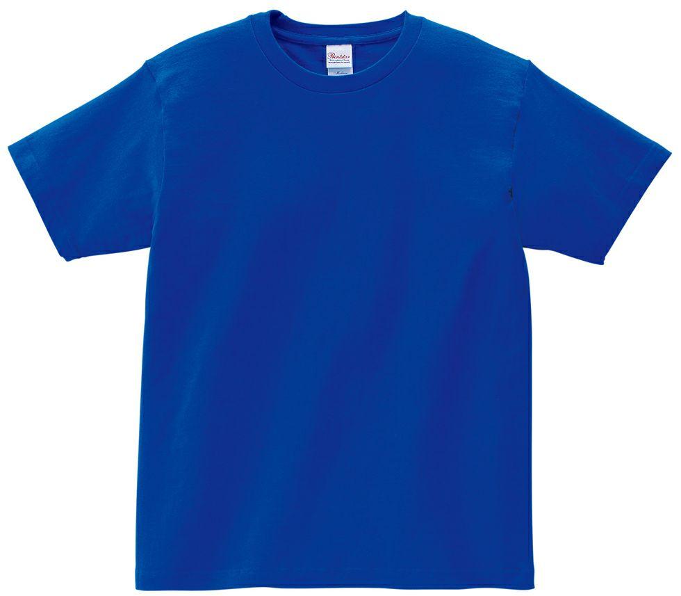 ロイヤルブルー#032/【人気♪】プリントスター半そでTシャツ(伸びにくい。色落ちしにくい。)