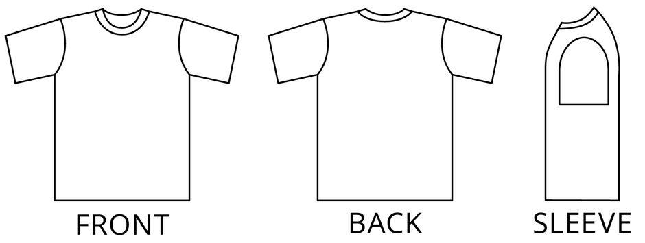 Tシャツイラスト画像