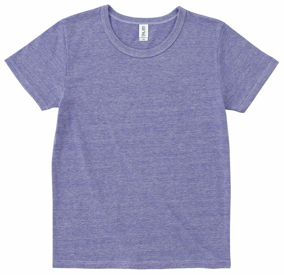 ヘザーパープル#20/おしゃれな生地で柔らかい半そでTシャツ