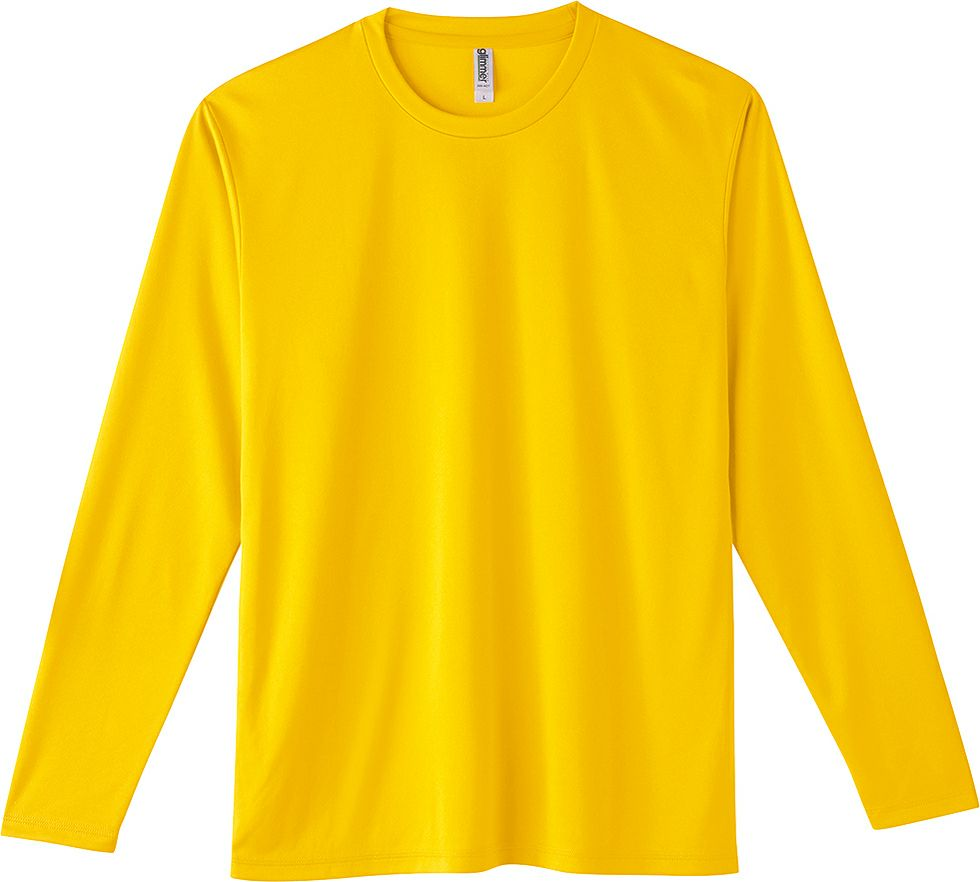 デイジー#165/激安で吸汗速乾ドライの業務用薄手長袖Tシャツ