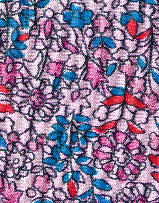 花柄のアップ写真