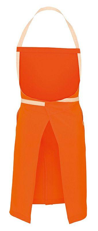 オレンジのバック画像