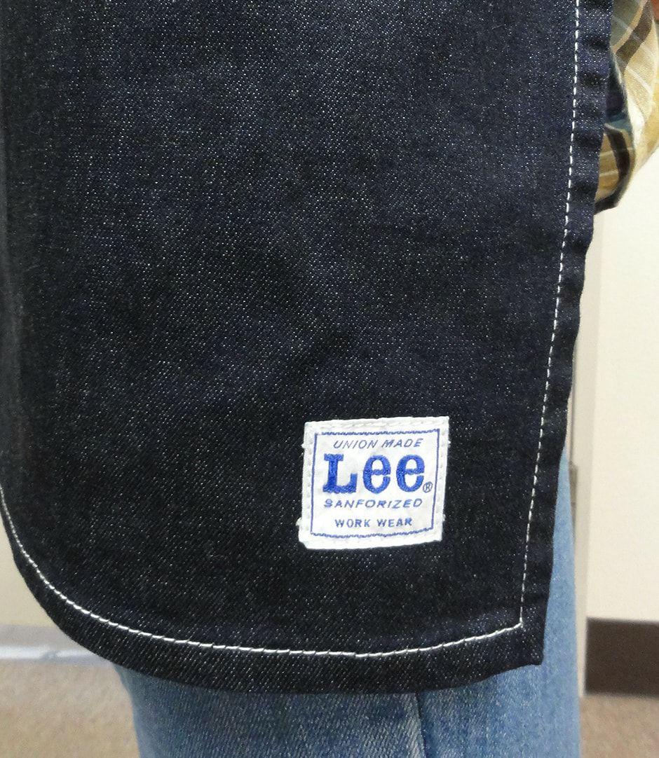 サイドにはLeeのロゴネーム入り