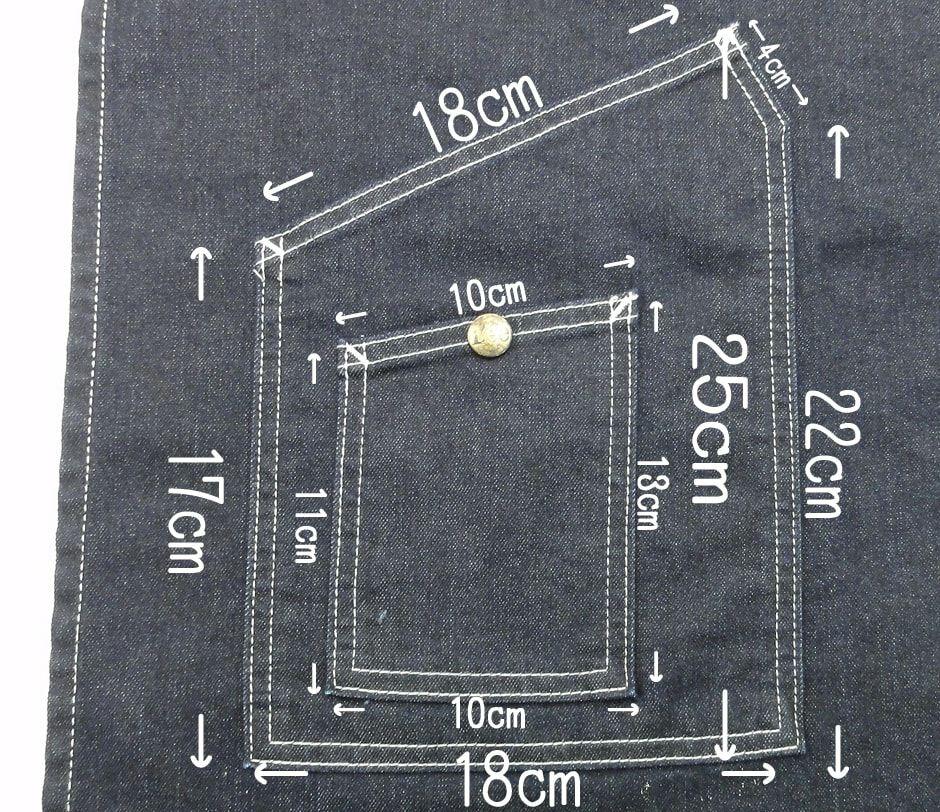 ポケットの大きさ