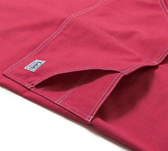ポケットのダブルステッチはお洒落なだけでなく、ポケット強度もアップしています。
