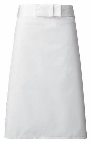 A35 【綿100%】業務用・厨房エプロン #ホワイト