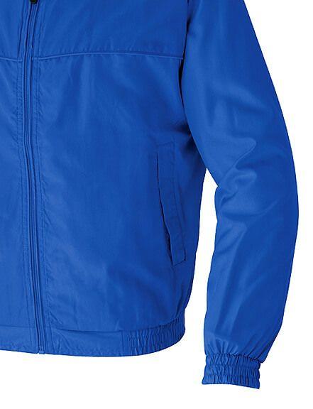 青色の袖先部分