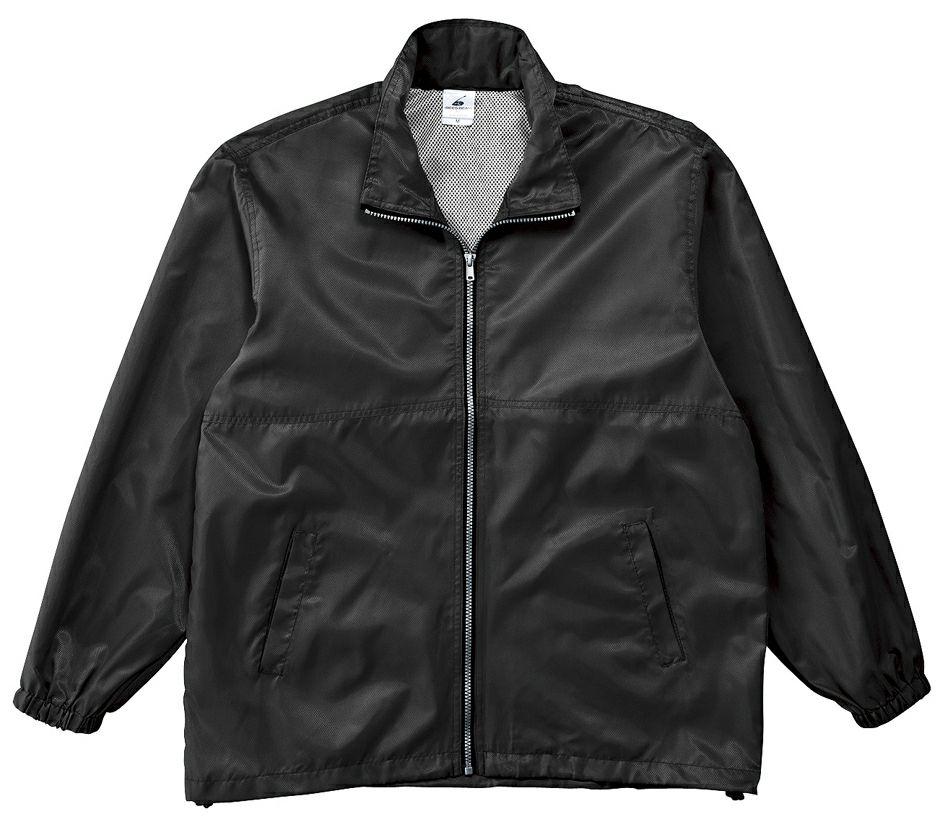 ブラック(黒色)#02のスタッフジャンパー