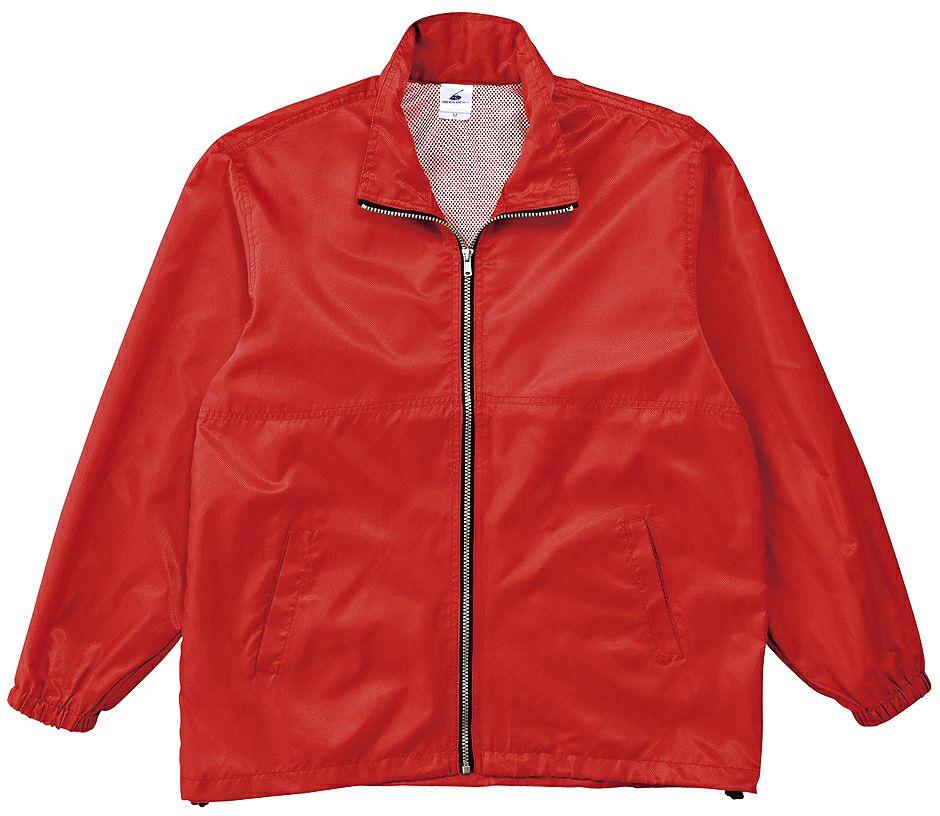 レッド(赤色)#06のスタッフジャンパー