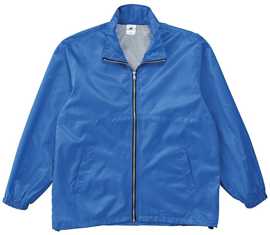 ブルー(青色)#07のスタッフジャンパー