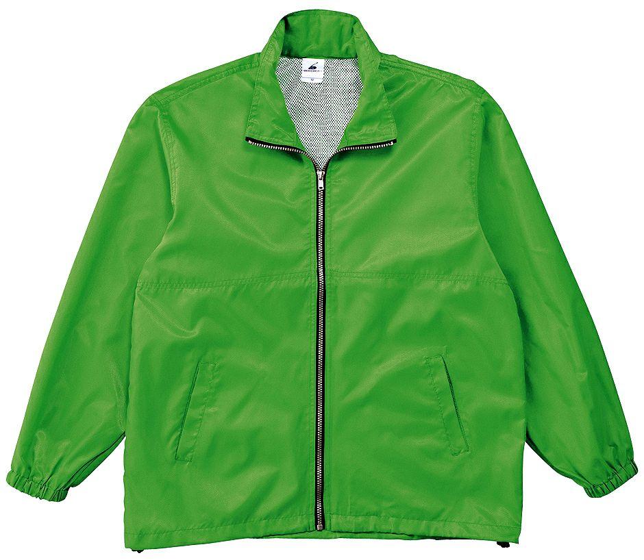 グリーン(緑色)#09のスタッフジャンパー