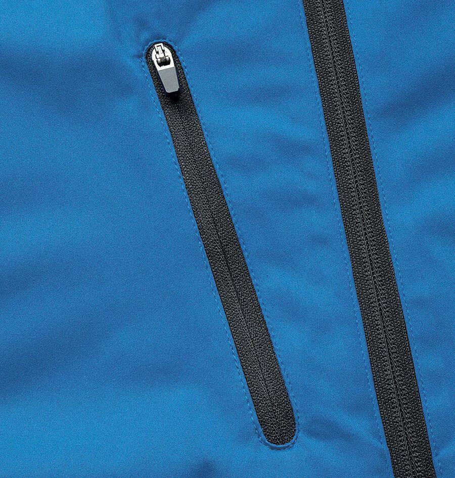 右胸ファスナー付きポケット部分