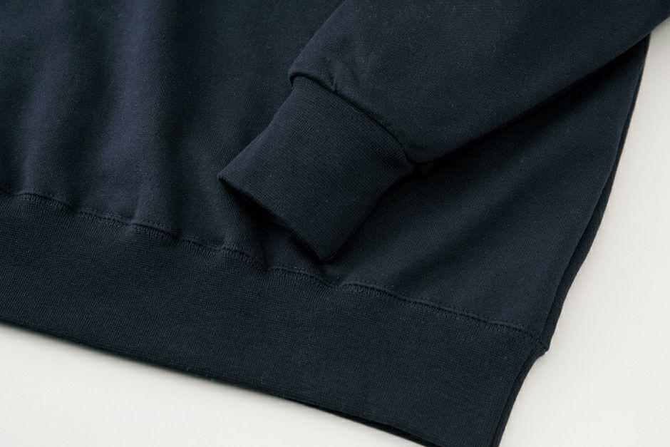 袖と裾部分アップ画像