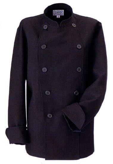 コックコートの黒