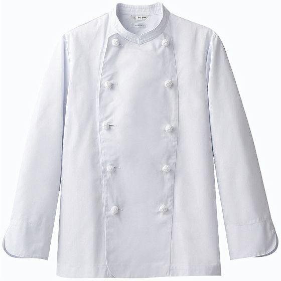 ホワイト#C1/長袖コックコート