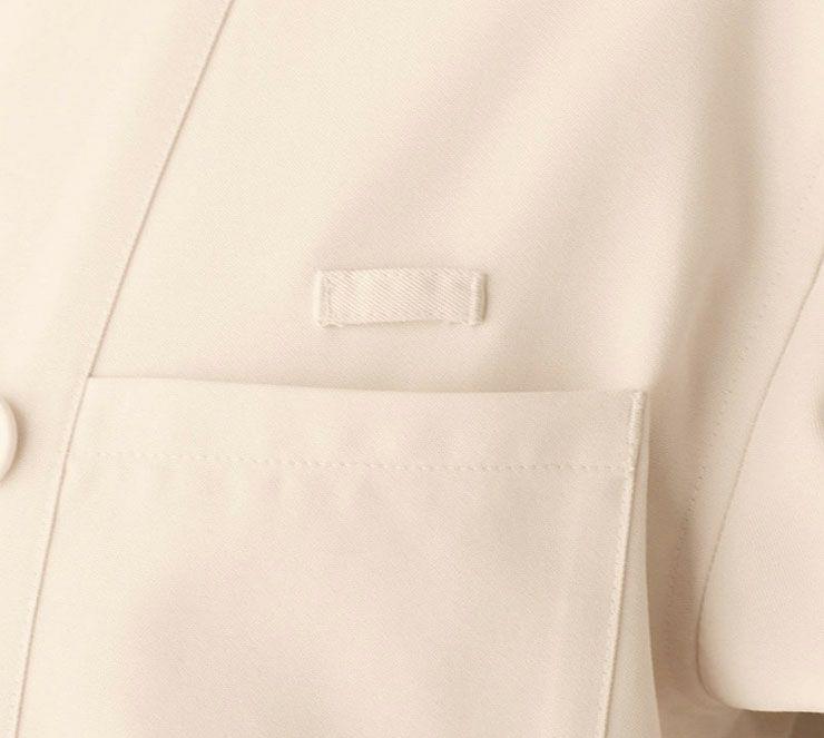 左胸ポケットアップ画像