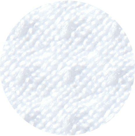 ホワイト生地のアップ写真です。
