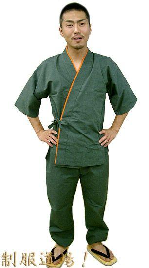 TH11019 作務衣シャツ/ TH11018 作務衣パンツ