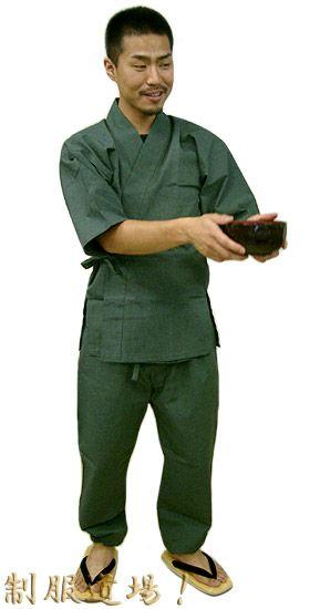TH11020 作務衣シャツ/ TH11018 作務衣パンツ