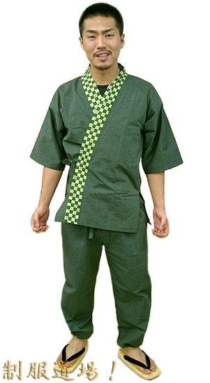 TH11021 作務衣シャツ/ TH11018 作務衣パンツ