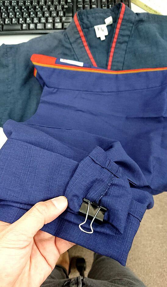 ▲弊社の専用縫製工場にはこんな感じで依頼&相談いたしました。
