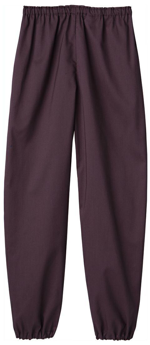 涼しい通気性のある夏用作務衣ズボン
