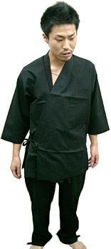 IS11028作務衣シャツ / IS11029 作務衣パンツ