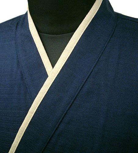YG11020  作務衣シャツ #ネイビー