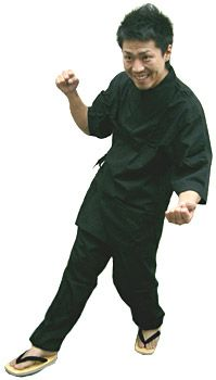 SN11252 作務衣シャツ /SN11257 作務衣【パンツ】/ #ブラック