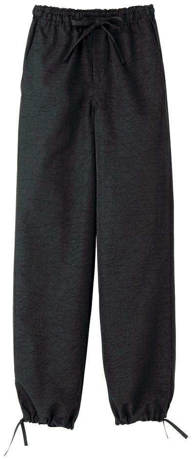 作務衣(さむえ)ズボンの全体写真