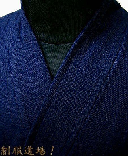 襟元のアップ写真