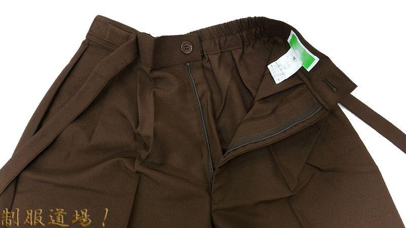 作務衣ズボンの前部分