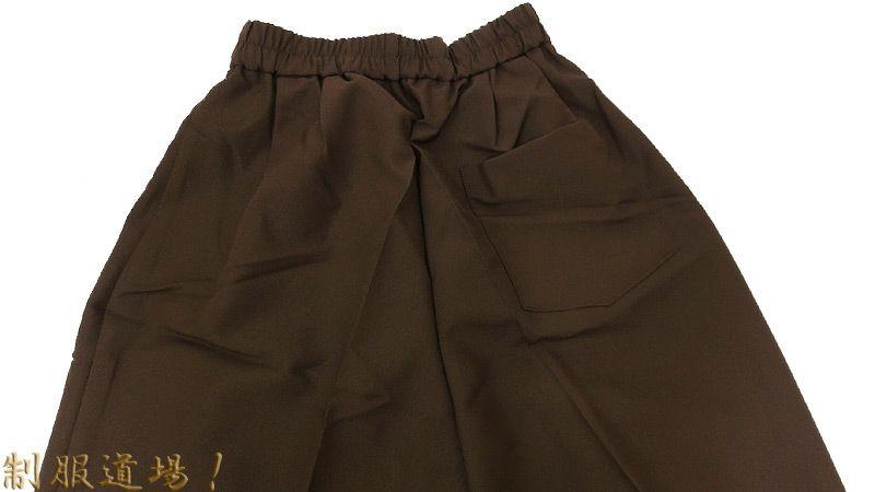 ズボンのバックスタイル
