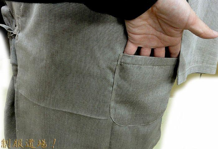 ポケット部分を撮影しました。