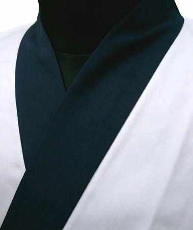 ホワイト×紺/紺衿・甚平