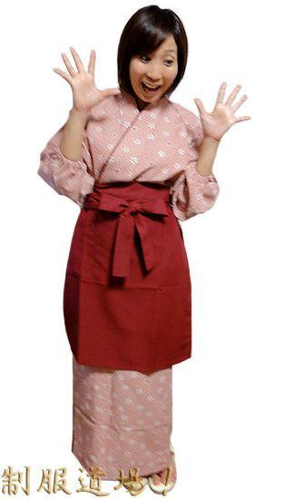 桜づくし・桜色/茶羽織・和風スカートセット