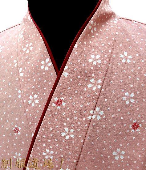 桜づくし・桜色/茶羽織
