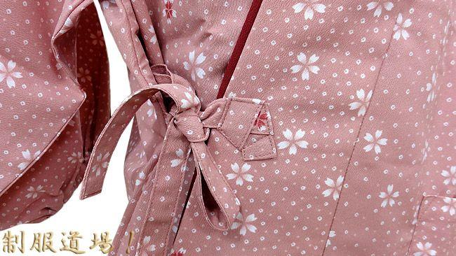 ピンクの結び目のアップ写真