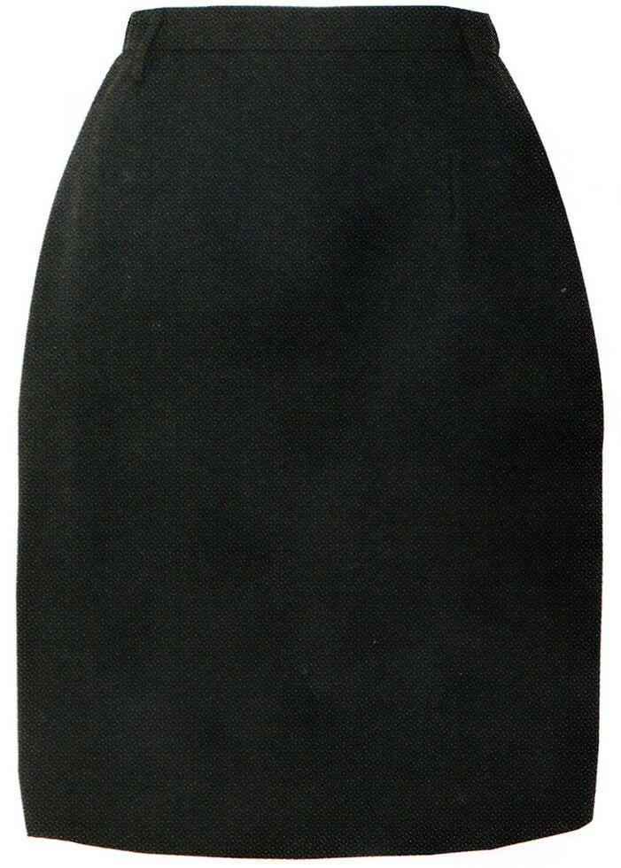ブラック#010/【ストレッチ】レディース  業務用スカート(帯電防止)