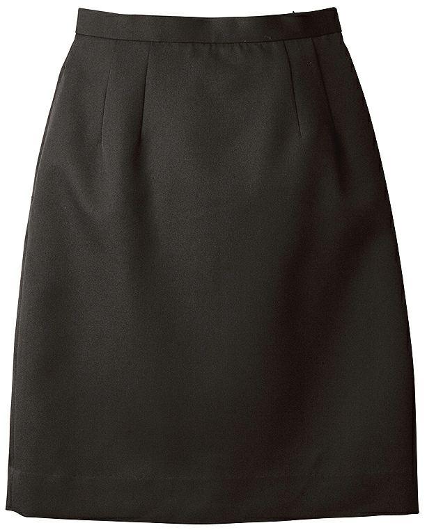 ブラック#010/【ストレッチ】レディース業務用スカート(帯電防止)